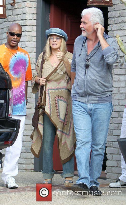 Barbra Streisand and James Brolin 7