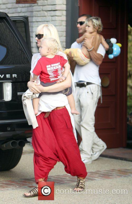 Singer Gwen Stefani, Gavin Rossdale and Gwen Stefani 1