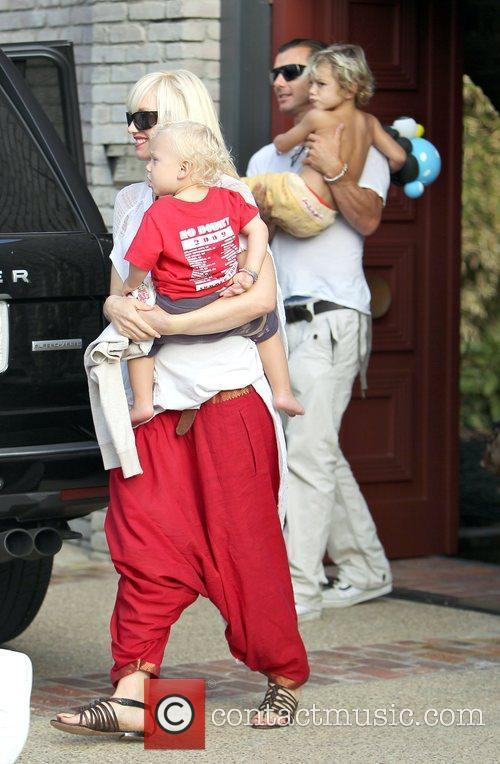 Singer Gwen Stefani, Gavin Rossdale and Gwen Stefani 5