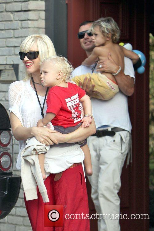 Singer Gwen Stefani, Gavin Rossdale and Gwen Stefani 9