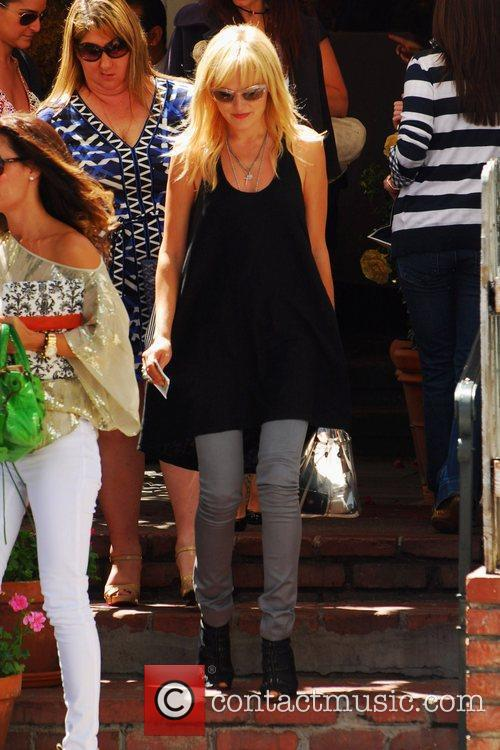 Malin Ackerman  goes for lunch at the...