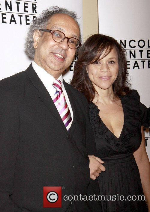 George C. Wolfe and Rosie Perez Opening night...