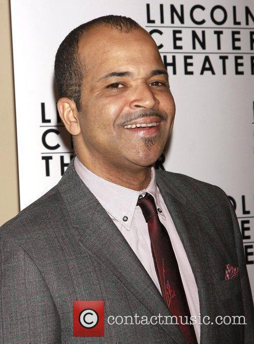 Jeffrey Wright Opening night after party for the...