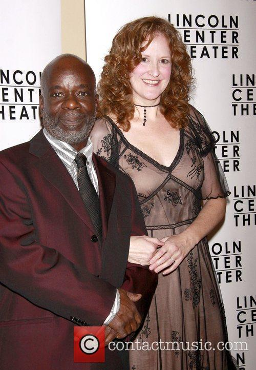 Joseph Marcell and Wendy Rich Stetson Opening night...