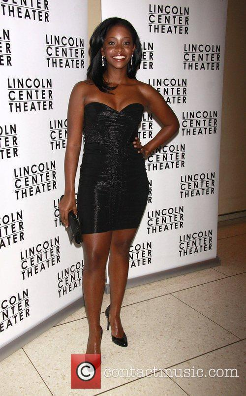 Teyonah Parris Opening night after party for the...