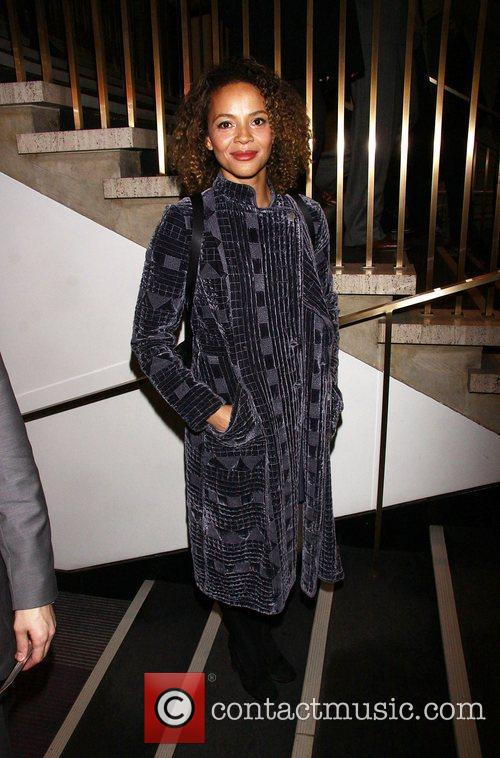 Carmen Ejogo Opening night of the Lincoln Center...