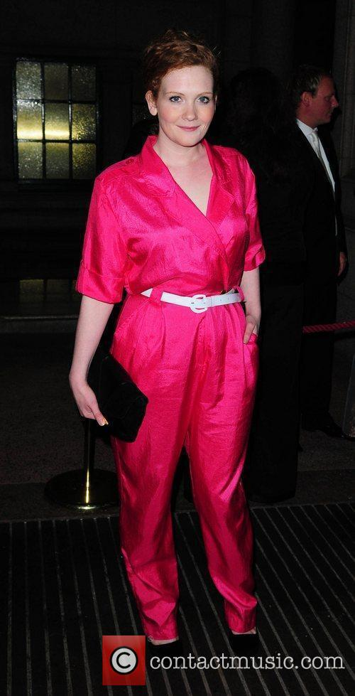 Jenny McAlpine arrives at the Palace Hotel Manchester...
