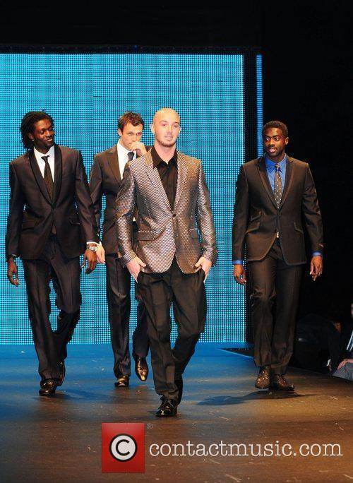 Picture - Emmanuel Adebayor And Stephen Ireland Manchester City Players Take