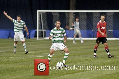 Marc Crosas Manchester United vs Celtic FC pre-season...