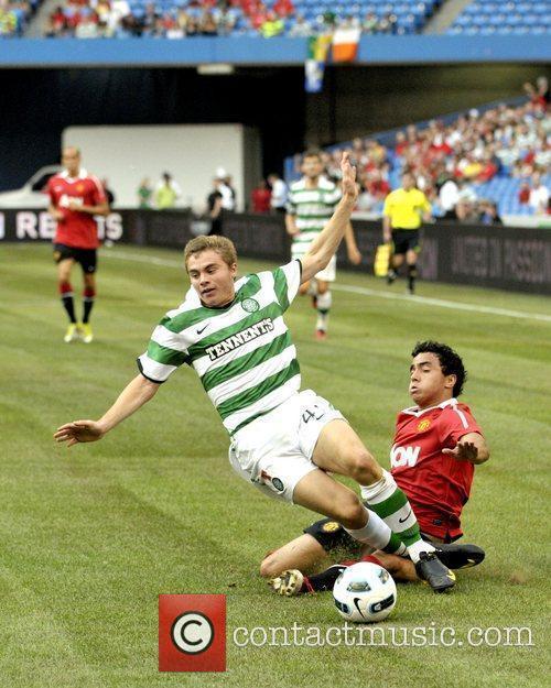 Manchester United vs Celtic FC pre-season friendly match...