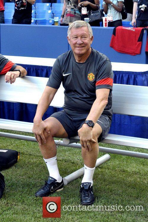 Sir Alex Ferguson Manchester United vs Celtic FC...