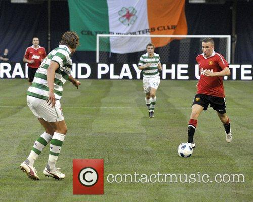 Tom Cleverley Manchester United vs Celtic FC pre-season...