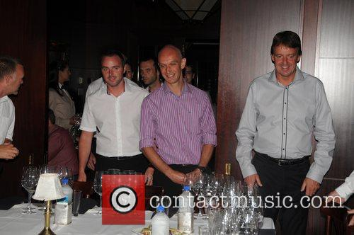 Manchester United at a wine tasting with Chilean...