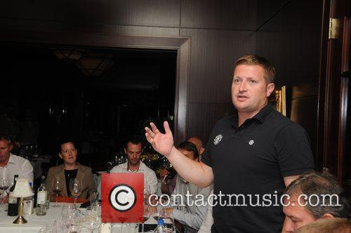 Richard Arnold Manchester United at a wine tasting...
