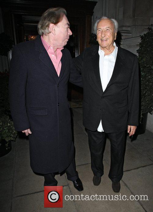 Andrew Lloyd Webber, Cnn, Michael Winner and Piers Morgan 2