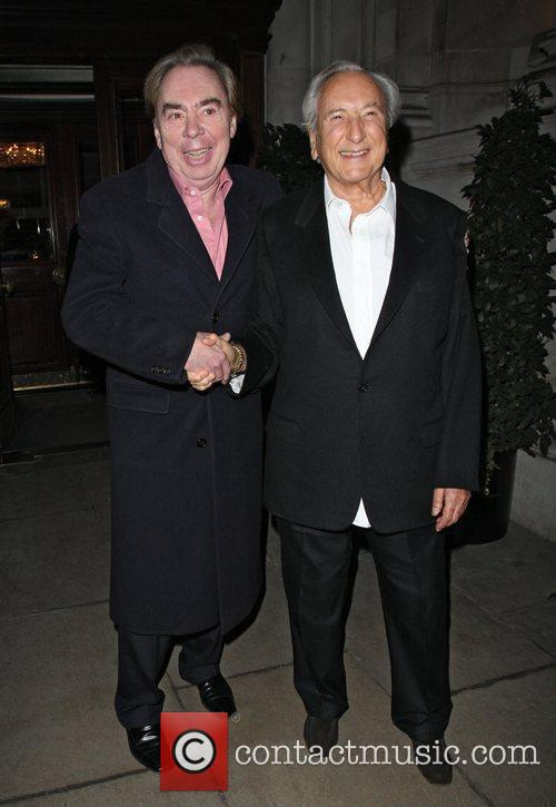 Andrew Lloyd Webber, Cnn, Michael Winner and Piers Morgan 1