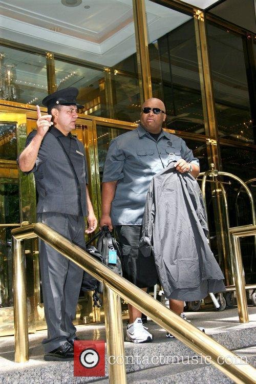 The Jonas Brother's personal security guard 'Big Rob'...