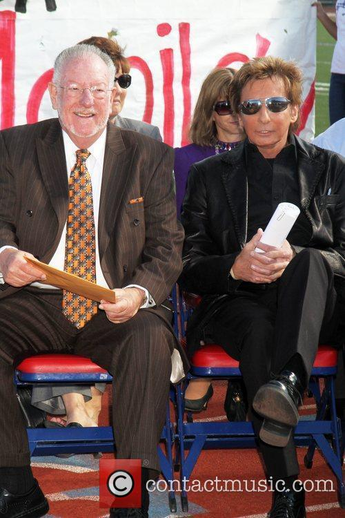 Las Vegas, Barry Manilow and Mayor Oscar Goodman