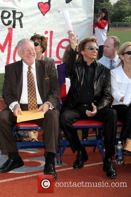 Manilow Music Project donation ceremony at Valley High...