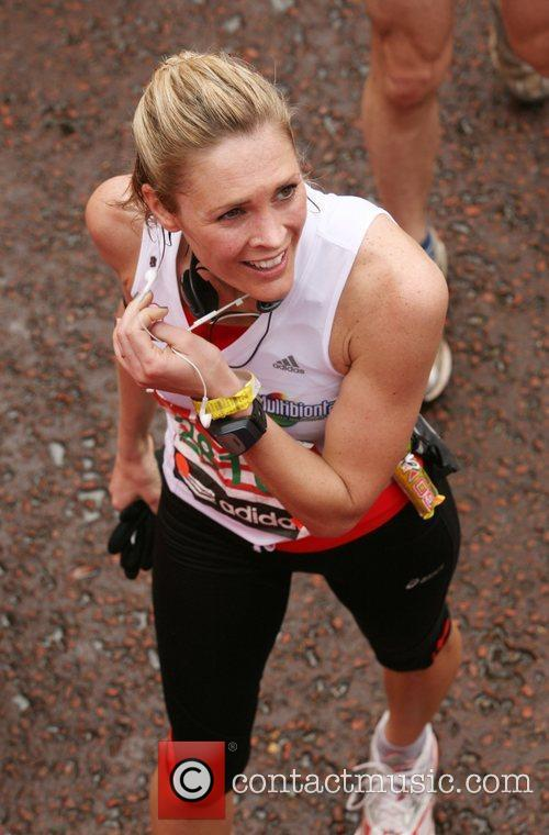 Jenni Falcolner The finish line of the 2010...