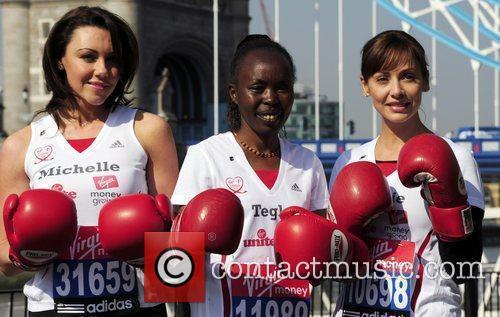 Photocall for the 2010 Virgin London Marathon outside...