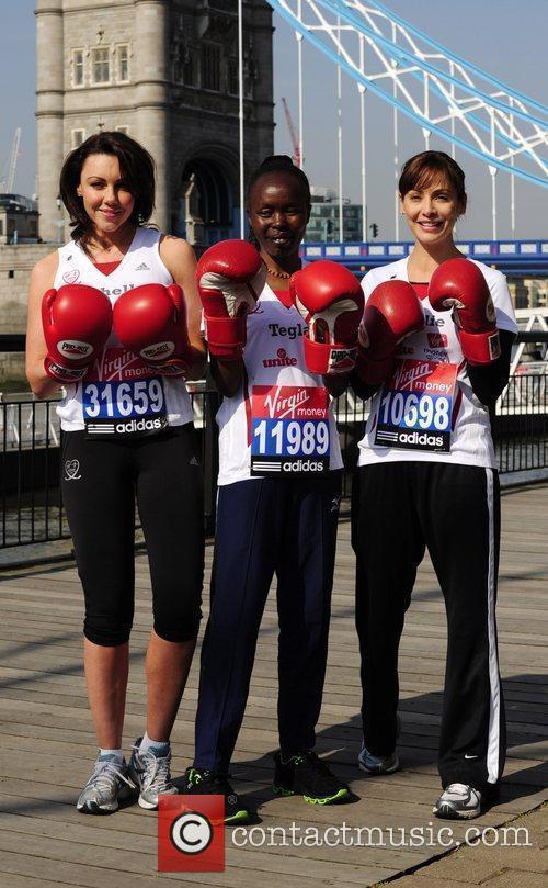 Michelle Heaton, Tegla Loroupe and Natalie Imbruglia...