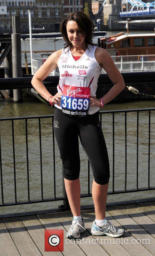 Michelle Heaton Photocall for the 2010 Virgin London...