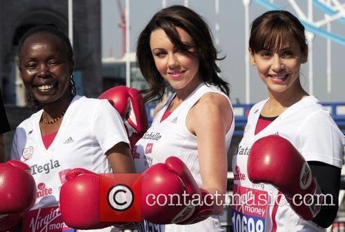 Tegla Loroupe, Michelle Heaton and Natalie Imbruglia...