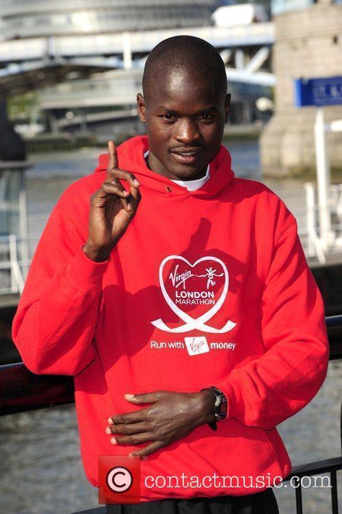 Samuel Wanjiru Photocall for the 2010 Virgin London...