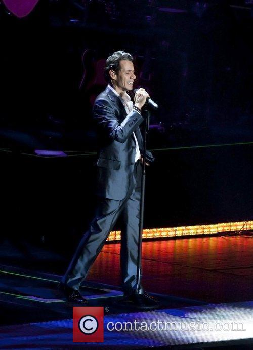 Marc Anthony Performing Live In Concert At Madison Square Garden 11 Pictures