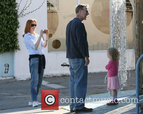 Desperate Housewives star Marcia Cross was spotted out...