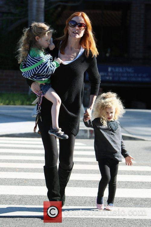 Marcia Cross  out and about with her...