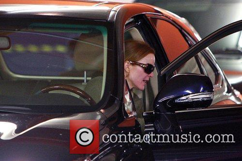'Desperate Housewives' star Marcia Cross seen leaving a...