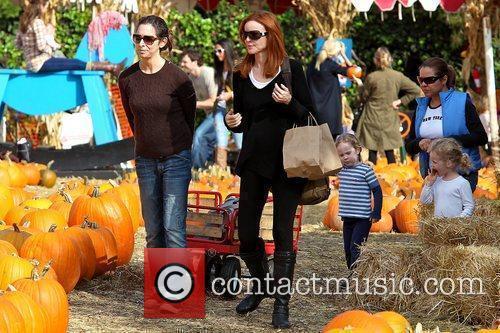 Marcia Cross, Savannah Mahoney and Eden Mahoney Marcia...