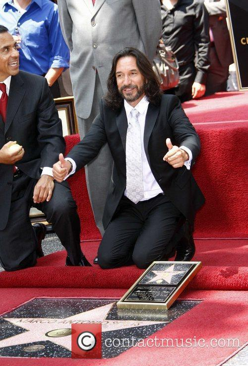 Marco Antonio Solis, Star On The Hollywood Walk Of Fame