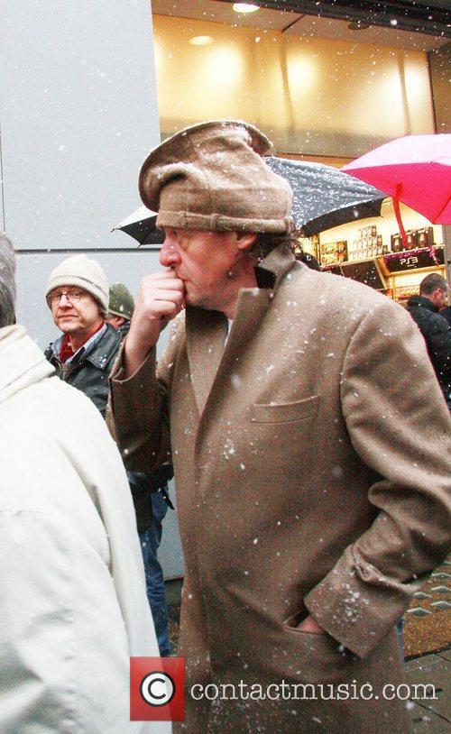 TV Chef, Marco Pierre White, makes his way...