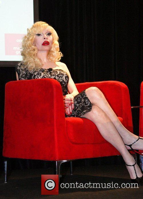Amanda Lepore The media launch for the 2010...