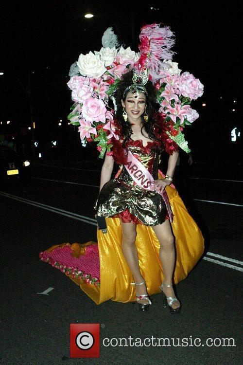 The 2010 Gay and Lesbian Mardi Gras Parade.