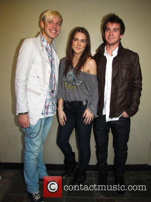 Ben Robinson, Nadine Croker and Tyler Neitzel Maria...