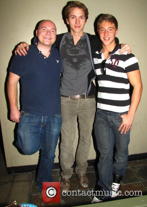 Joby Harte, Guy Naylor and Benjamin Store Maria...
