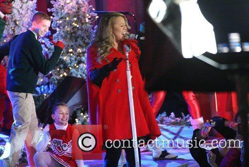 Mariah Carey performs songs from her holiday album...
