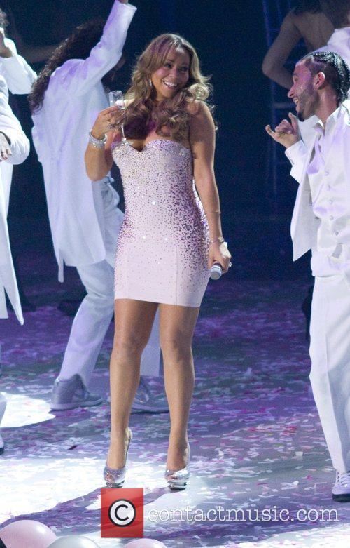 Performs live in concert at Madison Square Gardens...