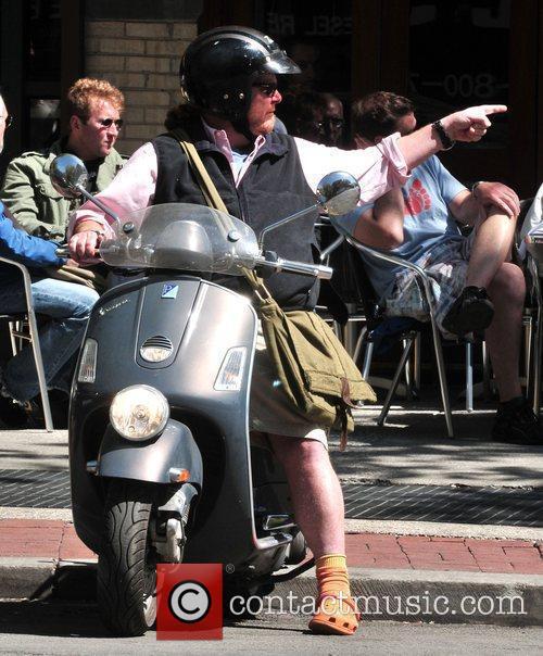 Mario Batali takes a ride through the city...