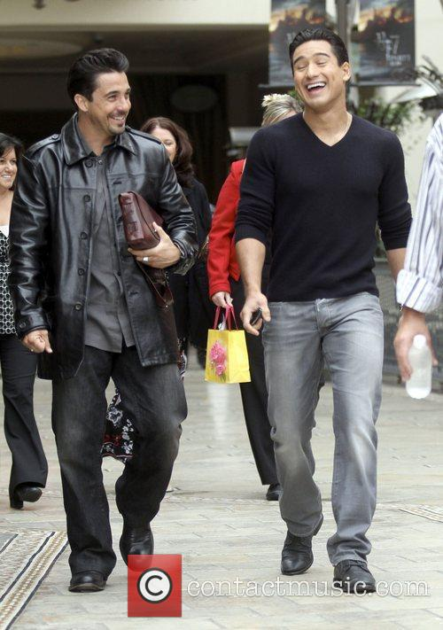 Mario Lopez and Dane Cook 2