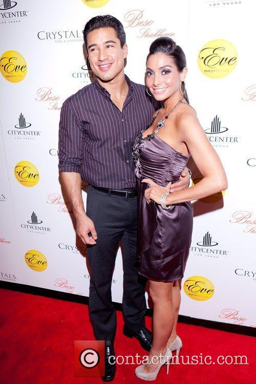 Mario Lopez hosts New Year's Eve at Eve...