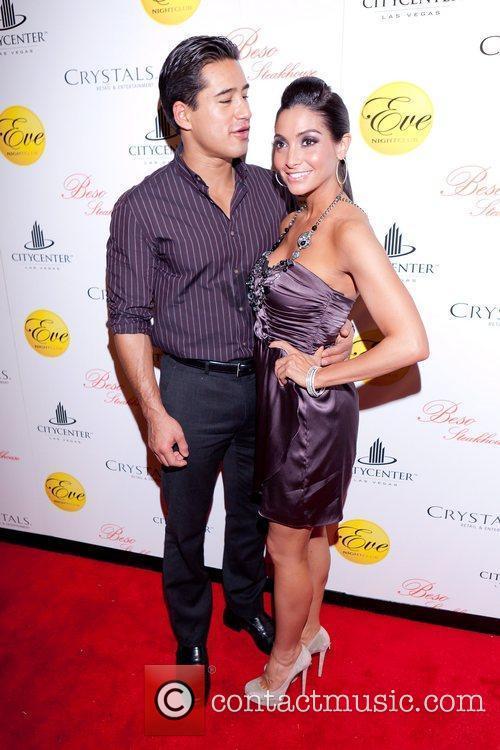 Mario Lopez,Courtney Mazza Mario Lopez hosts New Year's...