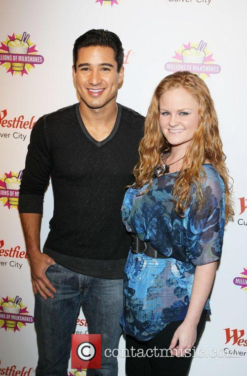 Mario Lopez and guest visit Millions of Milkshakes,...