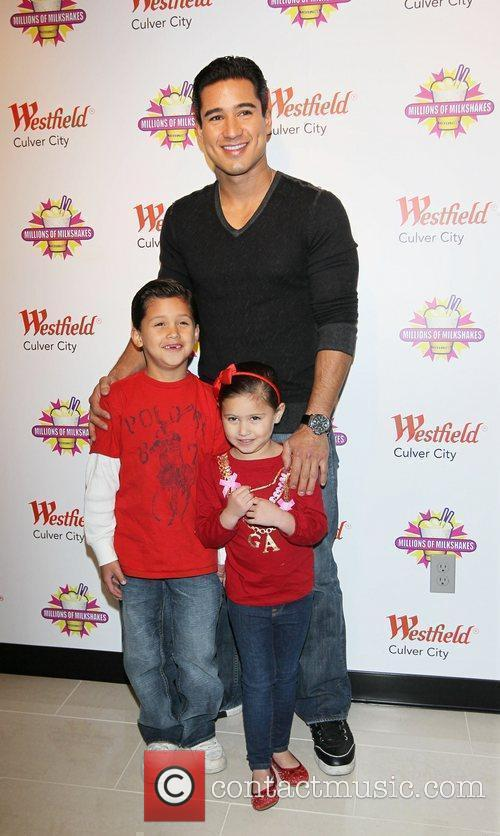 Mario Lopez and his family visit Millions of...