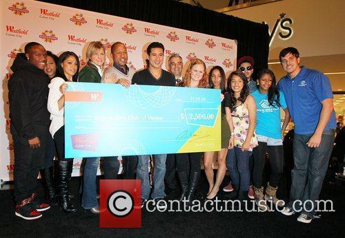 Mario Lopez makes a $2,500.00 USD donation to...