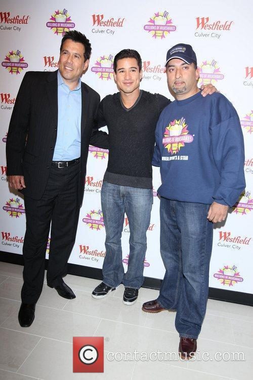 Guest, Mario Lopez and Sheeraz Hasan, founder of...